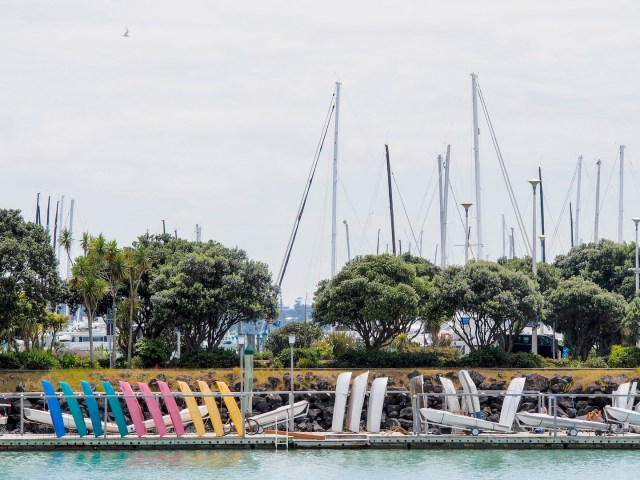 Westhaven Marina Boats - Street Photography Auckland