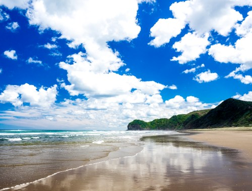 Piha Beach Clouds & Sky - Landscape Photography Auckland