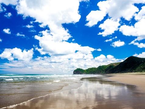 Piha Beach Clouds & Sky - Landscape Photography Auckland