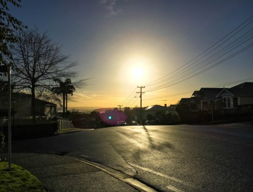 Remuera Sunrise - Street Photography Auckland