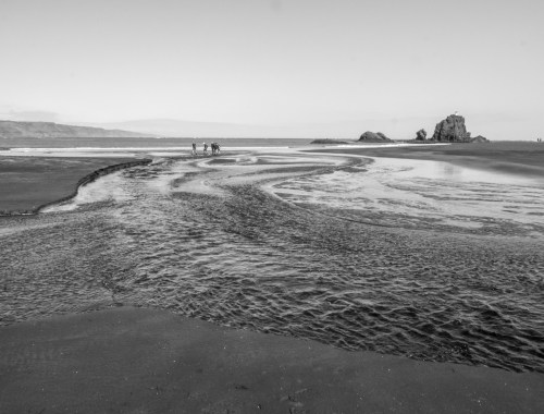 Whatipu Beach Creek - Landscape Photography Auckland