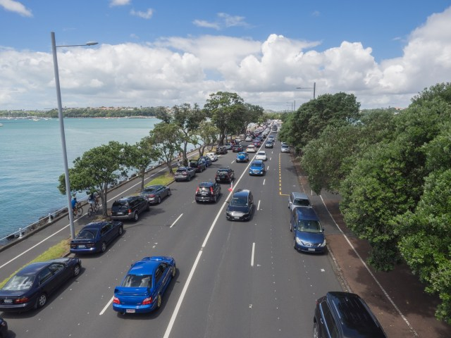 Auckland Bad Traffic - Street Photography