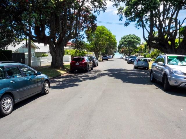 Auckland Parked Cars Devonport - Street Photography