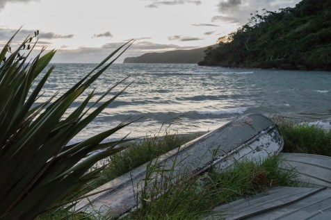 Mulberry Grove Beach Sunset at Great Barrier Island, Aotea