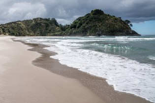 Outgoing Tide at Medlands Beach on Aotea Great Barrier Island
