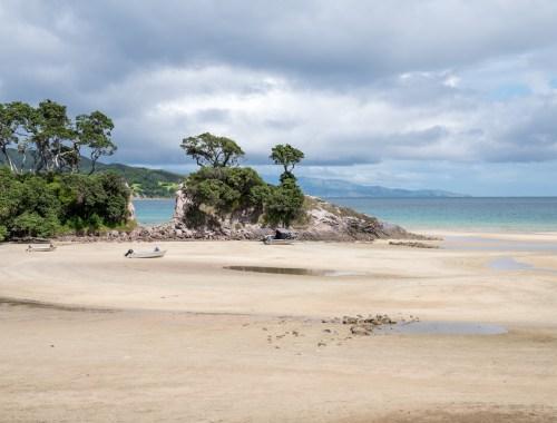 Tryphena Beach at Aotea Great Barrier Island