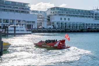 Auckland Harbour Queens Wharf Adventure Jet