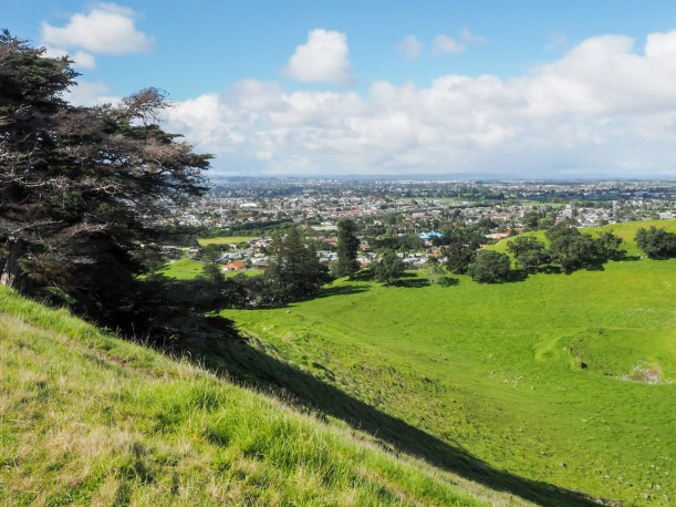 Mangere Favona View from Mangere Mountain