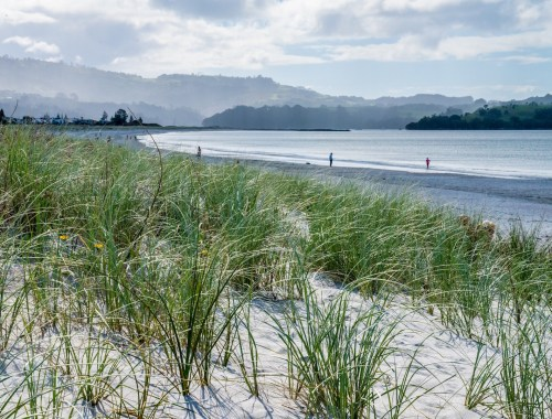Rain Showers over Omaha Beach - Landscape Photography Auckland