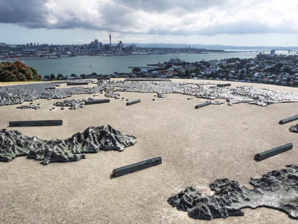 Auckland Skyline from Mount Victoria Devonport