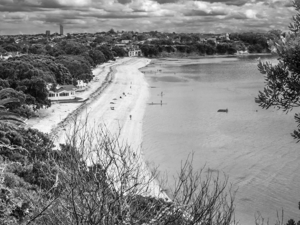 Devonport Beach - Black & White