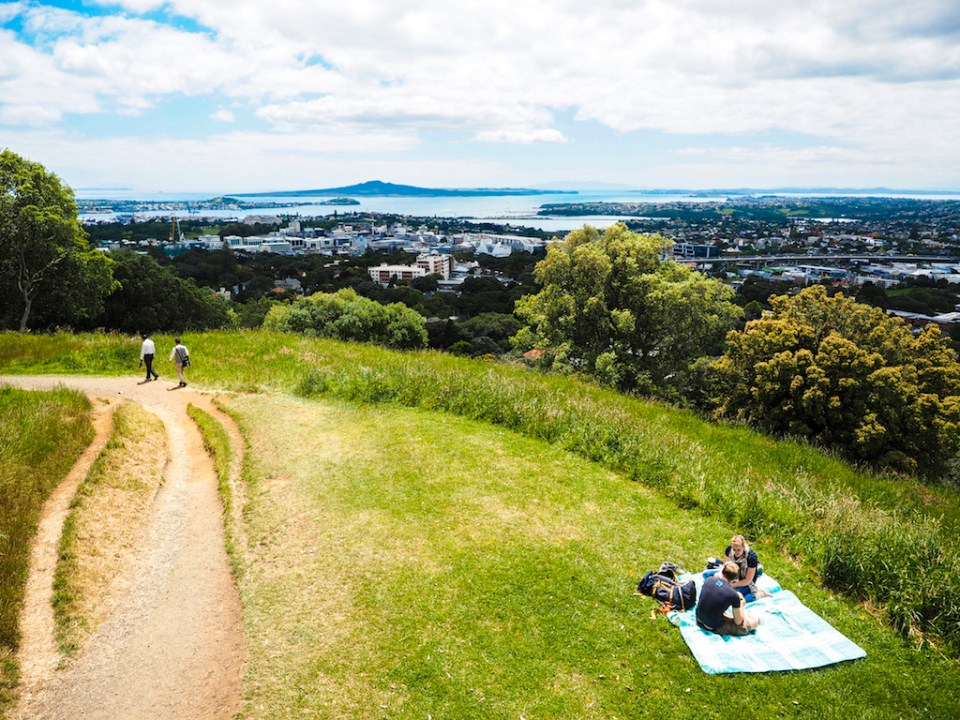 Mt Eden Picnic - Street Photography