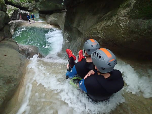 canyoning Savoie le pont du diable canyon Chambéry