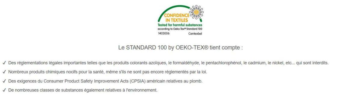 Oekotex magic bag