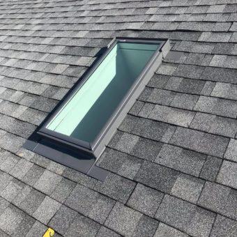 skylight grey shingles