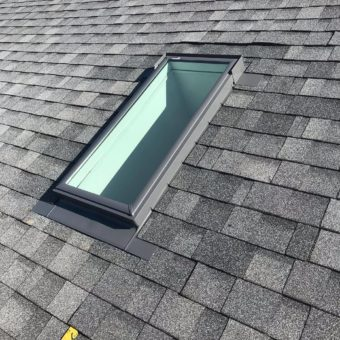 skylight grey shingles