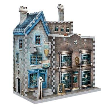 Boutiques Ollivander et Scribbulus - puzzle 3D