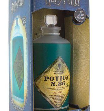 Lampe bouteille de potion