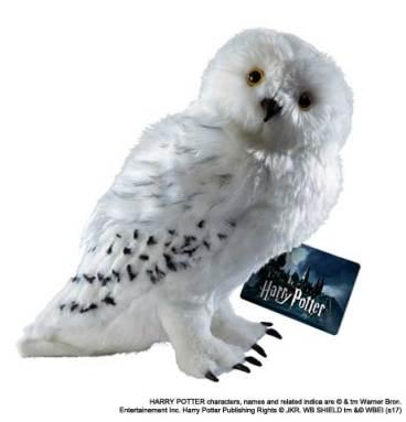 Grande peluche Hedwige