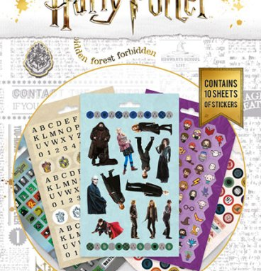 carnet de 800 Stickers Harry Potter