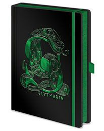 Carnet de Notes Premium Serpentard