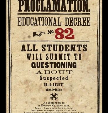 décret 82 - au comptoir des sorciers