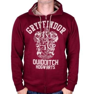 Sweatshirt Zippé Gryffondor Quidditch