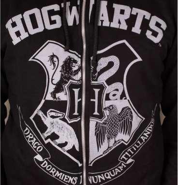 Sweatshirt zippé Poudlard
