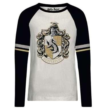 T-shirt Poufsouffle gold glitter