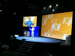 John Donahoe welcomes developers at PayPal X C...