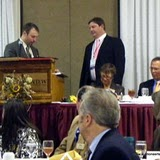 Eric Blomquist finishes his term as director