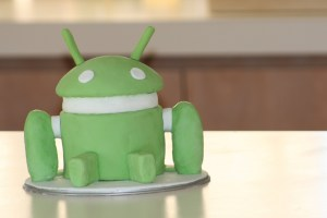 Android cake image from Tama Leaver on Flickr