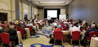 John Schultz teaching at Virginia Auctioneers Association