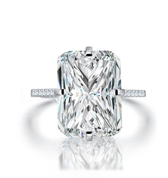 【最高純度】『過去最高級』◆ 高品質 16石 レディースダイヤリング 4ct【プラチナ仕上】注目 新品 贈答品