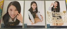 ☆NMB48 山尾梨奈☆ 6th Anniversary Live 会場生写真 コンプ