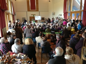 A very full auction at Itchen Abbas