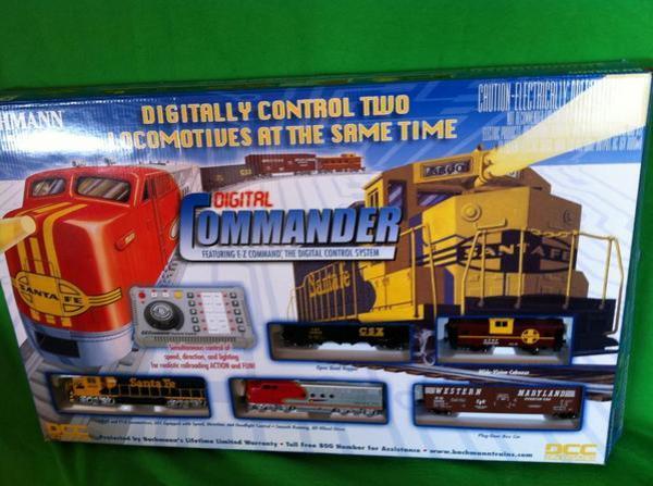 Bachman Digital Commander Deluxe DCC HO Scale Train Set