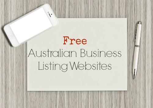 Free Australian Business Listing Websites
