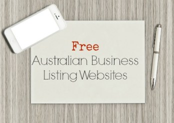 Free Australian Business Listing Websites