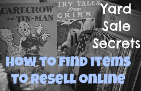 Best Items To Buy at a Garage Sale To Resell on eBay