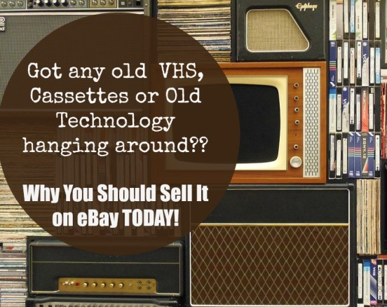 Why You Should Sell VHS, Cassettes and Old Technology on eBay