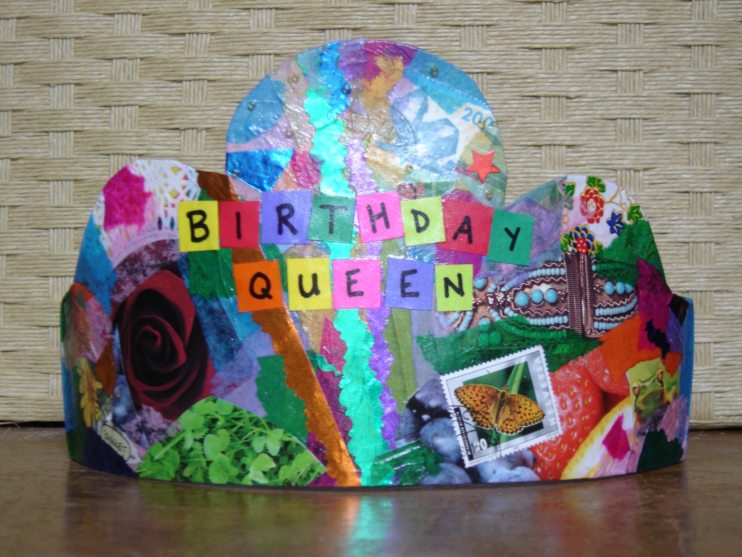 Birthday Queen Crown