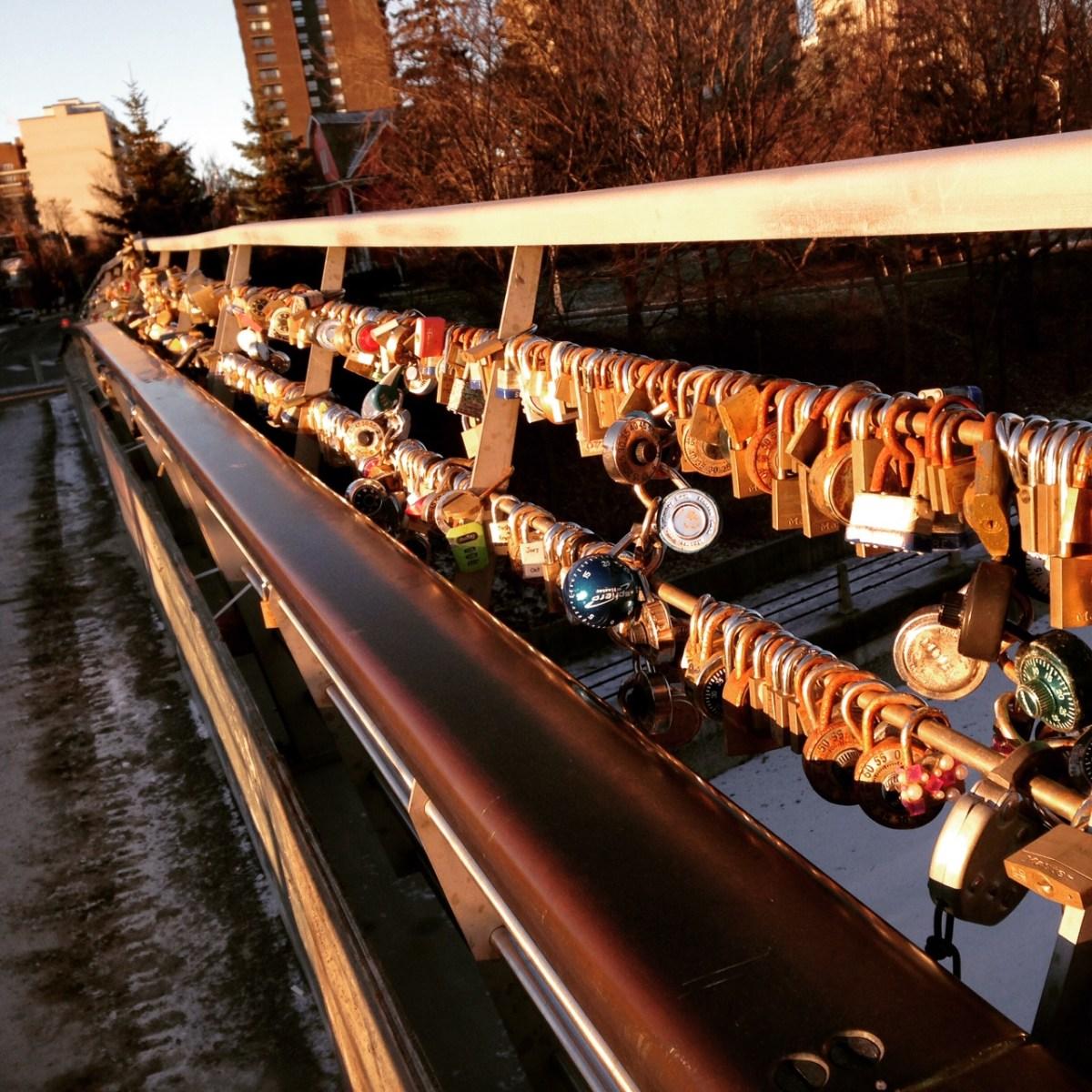 Le pont de l'amour d'Ottawa