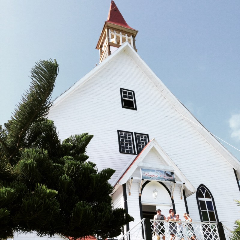 La Loma Church on San Andres