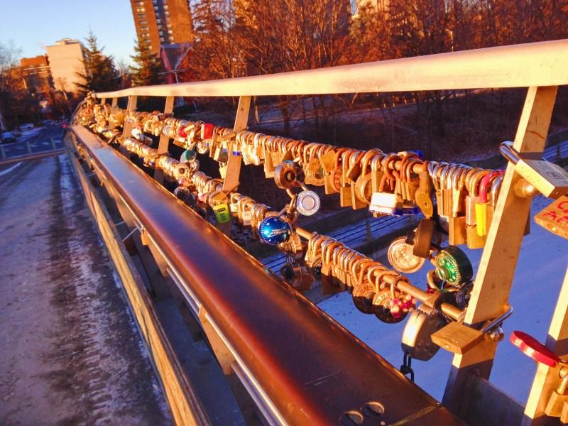 Love Bridge in Ottawa