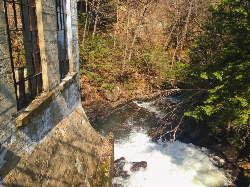 Carbide Willson ruins in Gatineau Park