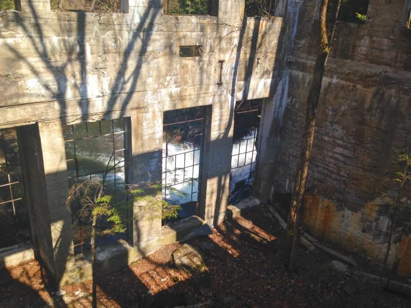 Carbide Willson ruins in Gatineau Park