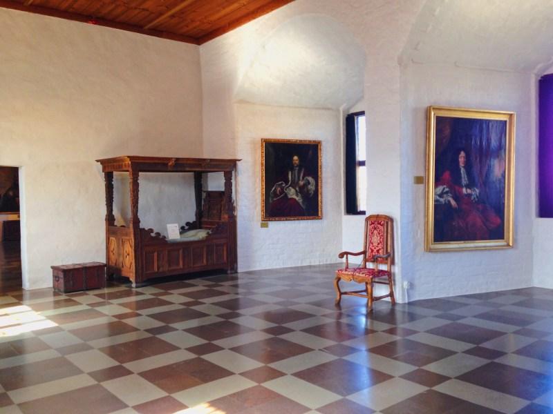 Inside Malmö Castle