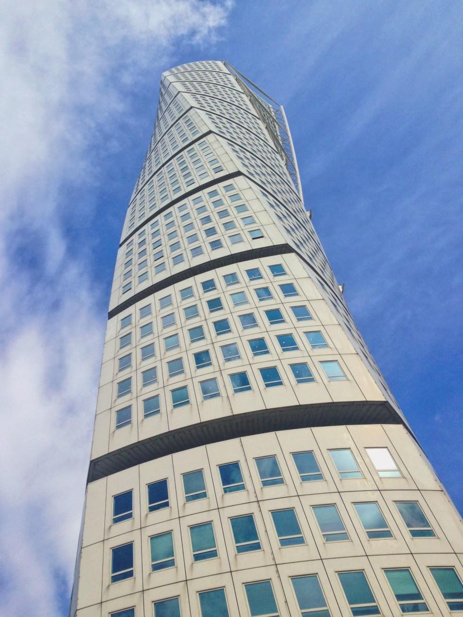 Ma non-visite de la tour torsadée de Malmö