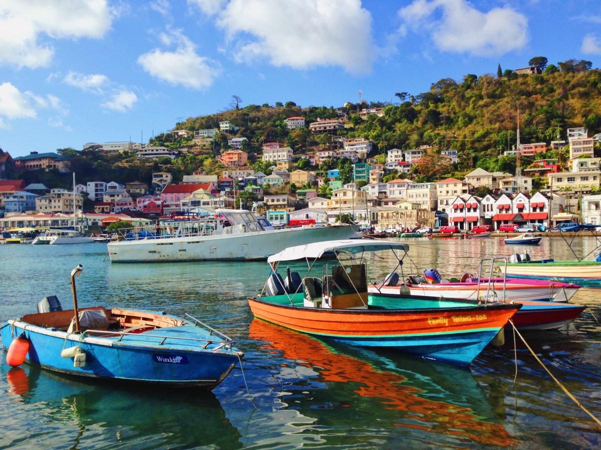 Passage par la Grenade, l'île aux épices